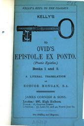 Epistolæ ex Ponto, tr. by R. Mongan