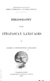 ... Bibliography of the Athapascan Languages