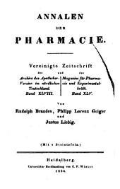 Justus Liebig's Annalen der Chemie: Bände 9-10