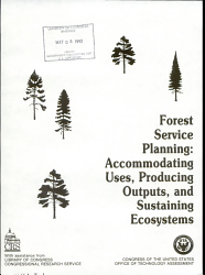 Forest Service Planning PDF