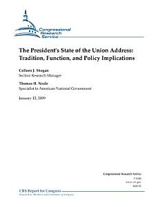 President s State of the Union Address Book