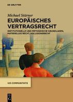 Europ  isches Vertragsrecht PDF