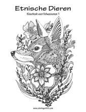Etnische Dieren Kleurboek voor Volwassenen 1