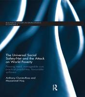 The Universal Social Safety Net and the Attack on World Poverty PDF