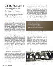Culinae Franconiae - Zur Alltagsgeschichte des Essens in Franken: ECHT Oberfranken - Ausgabe 26