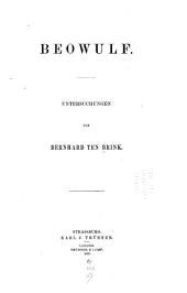 Beowulf: Untersuchungen