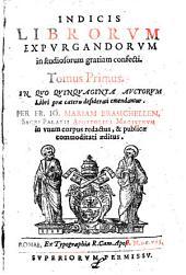 Index librorum expurgandorum (etc.)