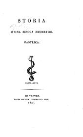 Storia d'una sinoca reumatica gastrica