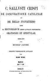 Crispi Salustii De coniuratione Catilinae liber incipit