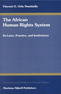 The African Human Rights System Book