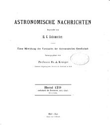 Astronomical notices PDF