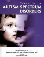 Textbook of Autism Spectrum Disorders PDF
