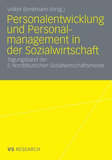Personalentwicklung und Personalmanagement in der Sozialwirtschaft PDF