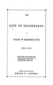 The Gift of Friendship: A Token of Remembrance For...