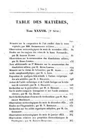 Annales de chimie et de physique: Volume37
