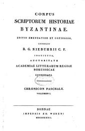 Corpus scriptorum historiae byzantinae: Volume 11