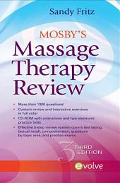 Mosby's Massage Therapy Review - E-Book: Edition 3