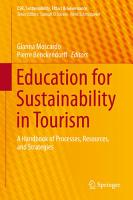 Education for Sustainability in Tourism PDF