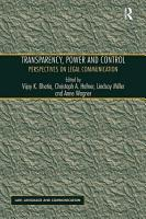 Transparency  Power  and Control PDF