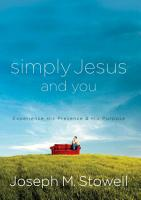 Simply Jesus and You PDF