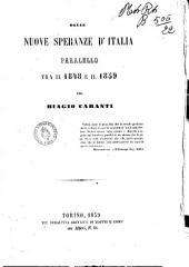 Delle nuove speranze d'Italia parallelo tra il 1848 e il 1859