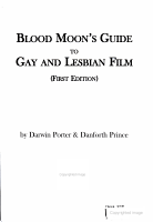 Blood Moon s Guide to Gay and Lesbian Film PDF