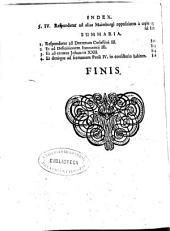 Gallia vindicata: in qua testimoniis, exemplisque Gallicanae praesertim Ecclesiae, quae pro regalia : ac quatuor parisiensibus propositionibus a Ludouico Maimburgo, aliisque producta sunt, refutantur