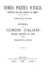 Storia dei comuni italiani dalle origini al 1313