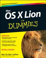 Mac OS X Lion For Dummies PDF