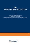 Die Epidemische Encephalitis PDF