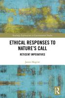 Ethical Responses to Nature   s Call PDF