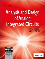 ANALYSIS AND DESIGN OF ANALOG INTEGRATED CIRCUITS  5TH ED  ISV PDF