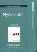 A World of Art New MyArtsLab Access Code PDF