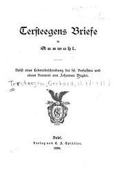 Tersteegens Brief in Auswahl