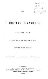 The Christian Examiner: Volume 70