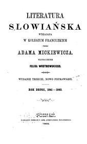 Literatura słowiańska wykładana w Kolegium francuzkiem: Tom 2
