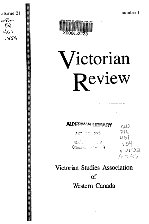 Victorian Review