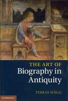 The Art of Biography in Antiquity PDF