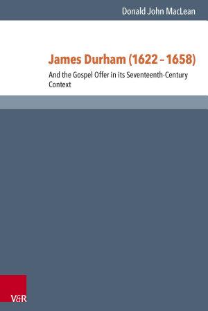 James Durham  1622   1658  PDF