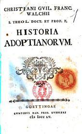 Historia adoptianorum