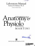 Fundamentals of Anatomy and Physiology PDF