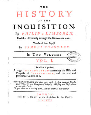 The History of the Inquisition PDF