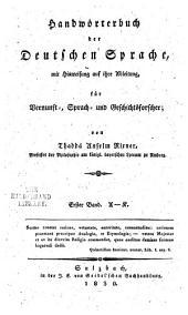 Erläuterndes alphabetisches Wortregister zu J.E. Kaindl's...: Die teutsche Sprache aus ihren Wurzen