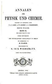 Annalen der Physik und Chemie: Band 57