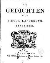 De gedichten van Pieter Langendyk: Volume 3