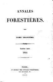 Annales forestières