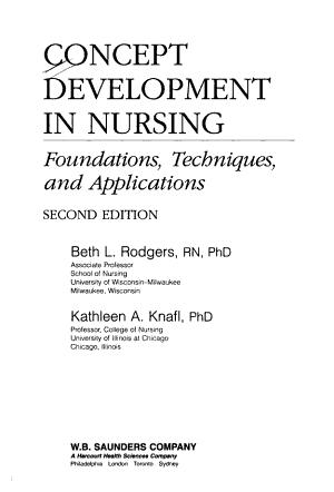 Concept Development in Nursing PDF