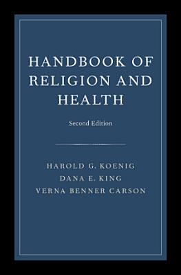Handbook of Religion and Health PDF