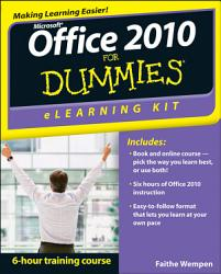 Office 2010 eLearning Kit For Dummies PDF