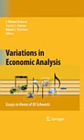 Variations in Economic Analysis PDF